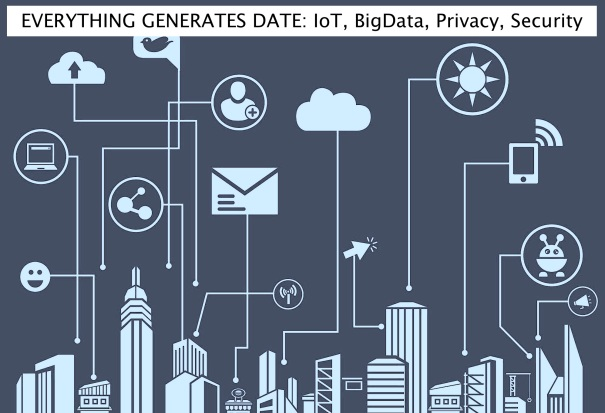 Everything generates data - IoT, BigData, Privacy, Security